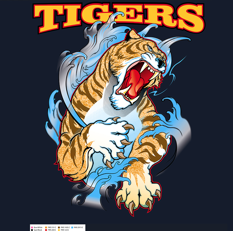 Water Tiger Color