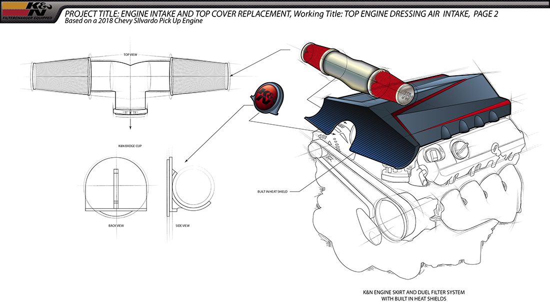 Air Intake Engine Dress Page 2