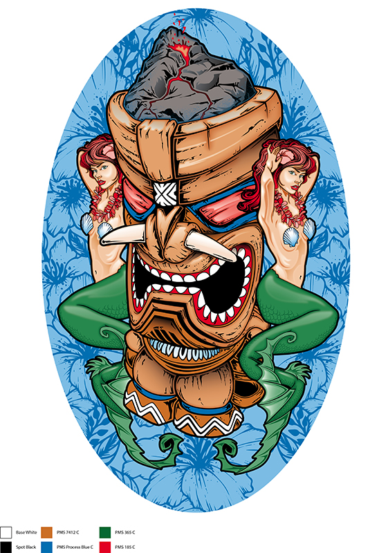Tiki Mermaid