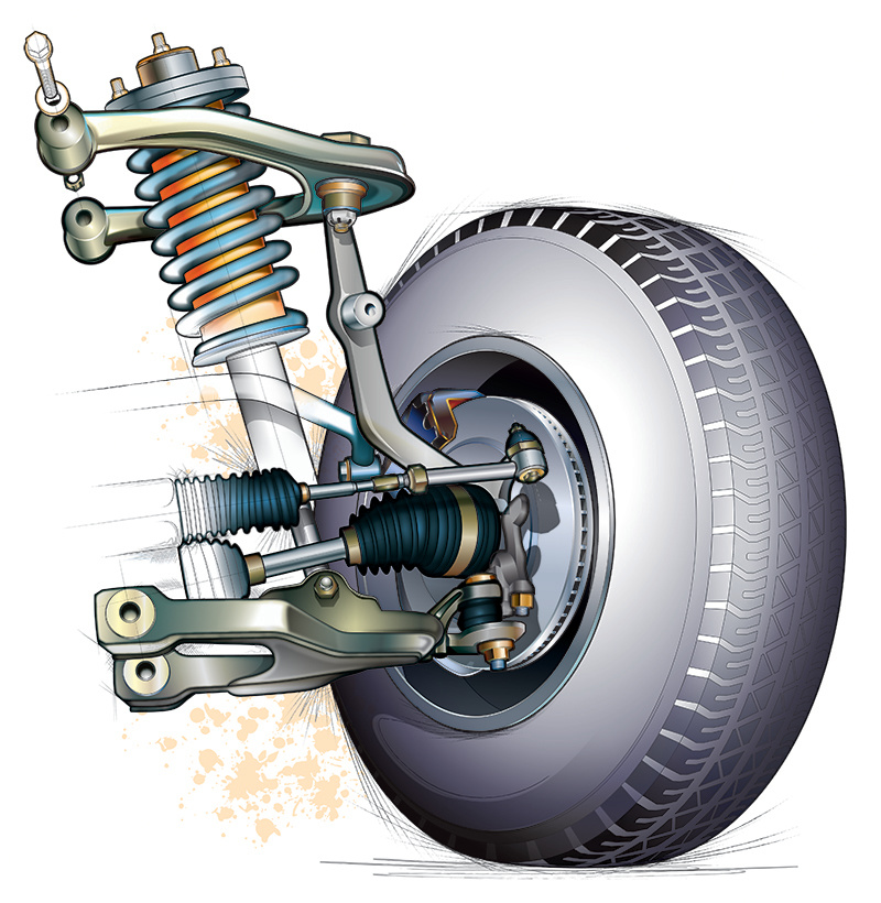 E-4194 Car Suspension