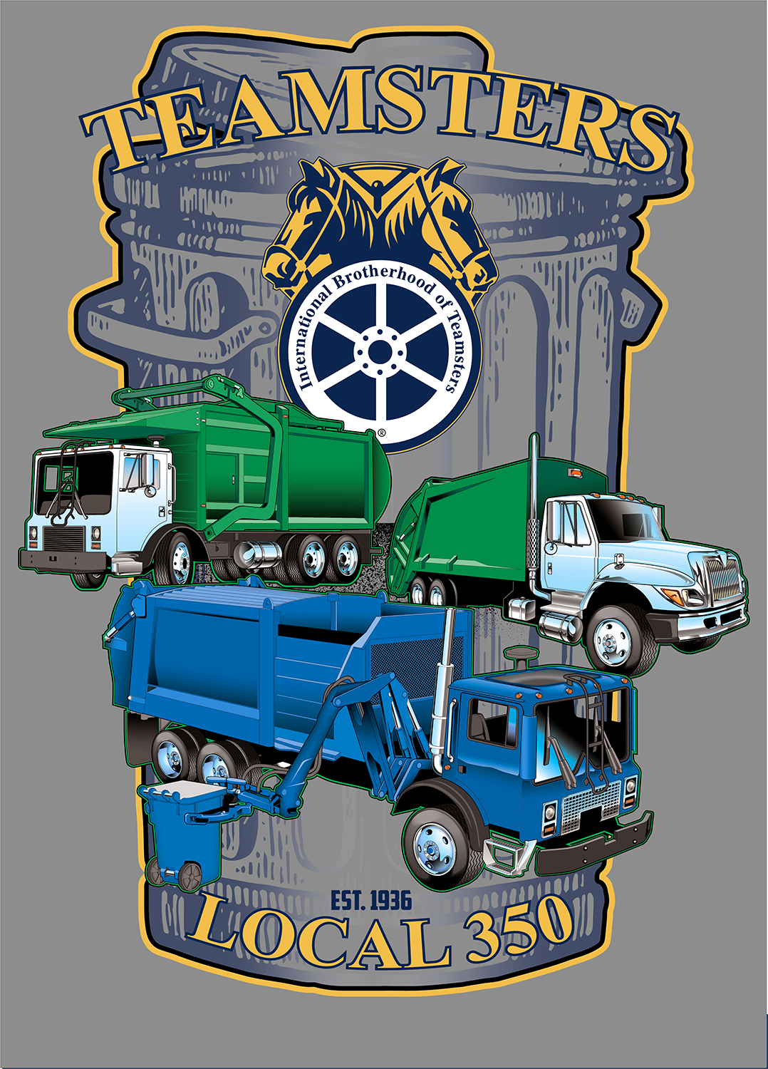 TEAMSTER 350 Truck Color Final