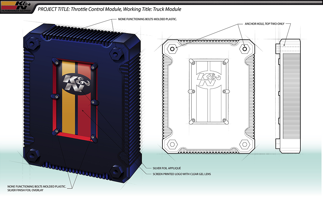 K&N Throttle Truck Module