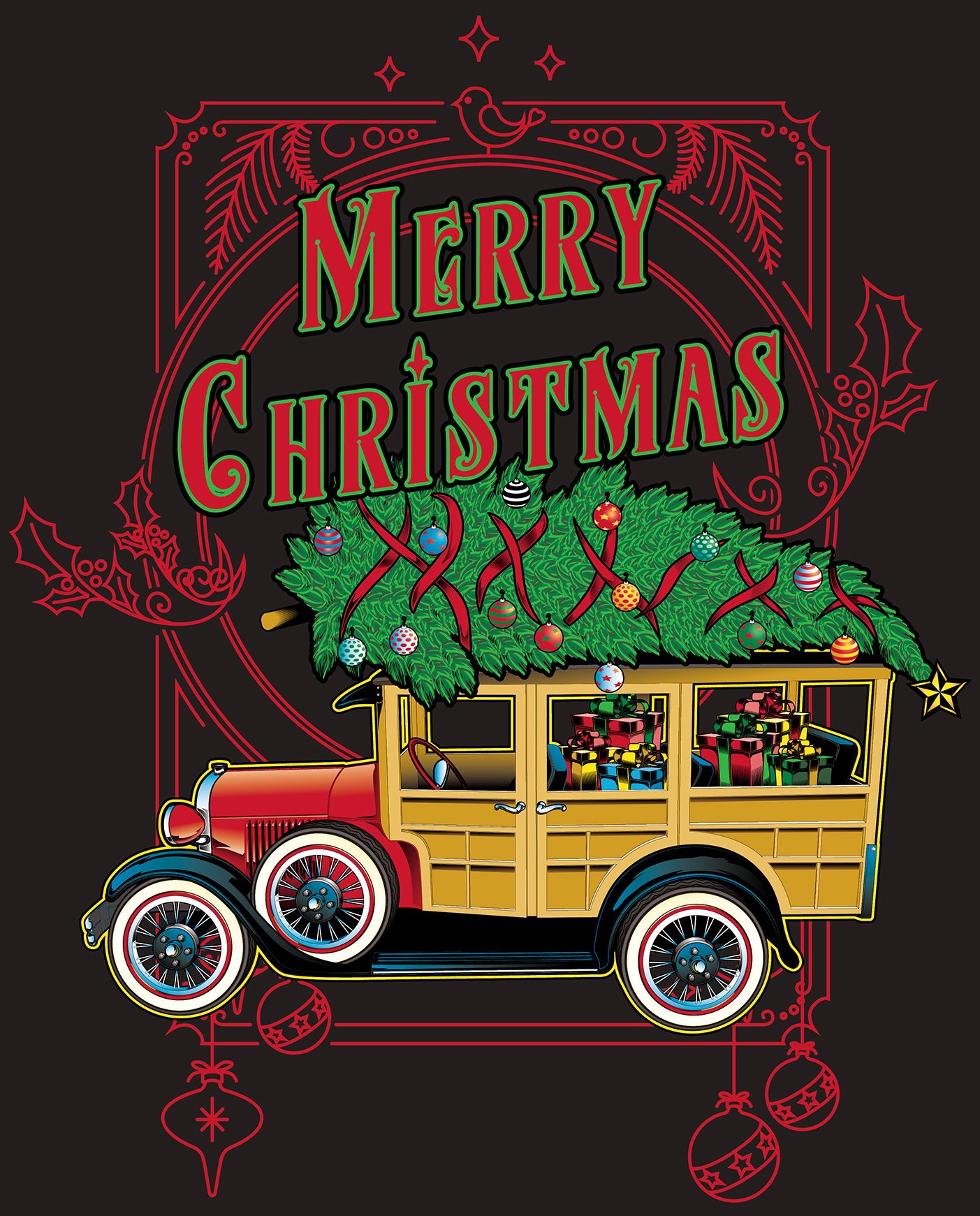 Woodie Christmas Color