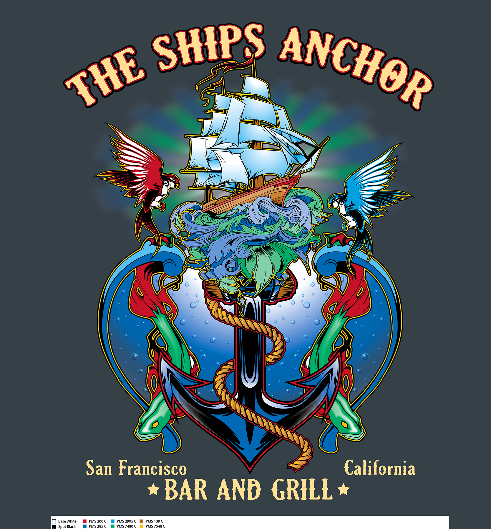 Ship Anchor Color