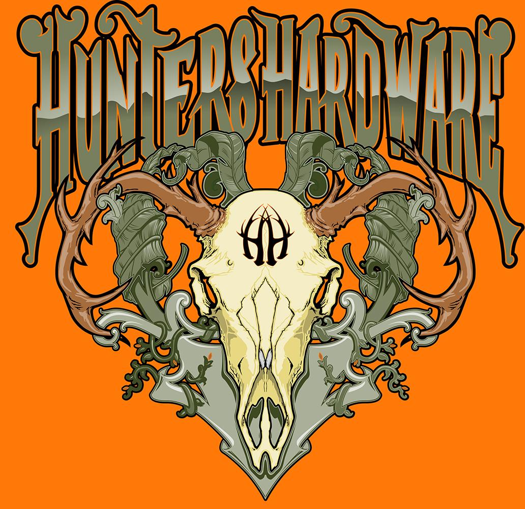 HuntersHardwareElkMen's Front PrintInfoGraphicFile
