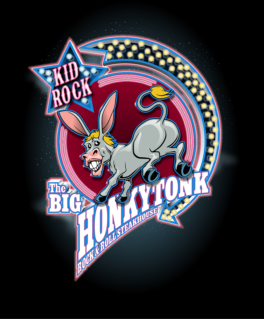 The Honkeytonk Logo Design