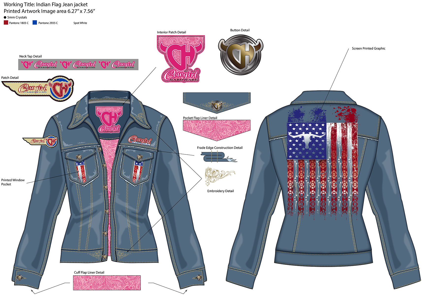 IndianFlagJeanJacket-2