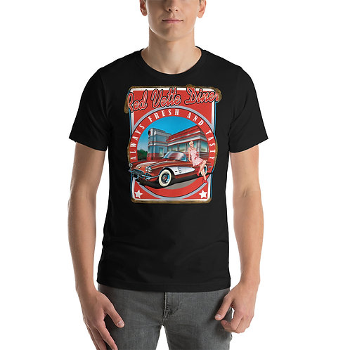 Red Vette Diner Tee