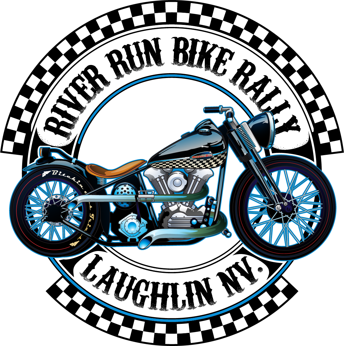 RIVER RUN BIKE RALLY TEE