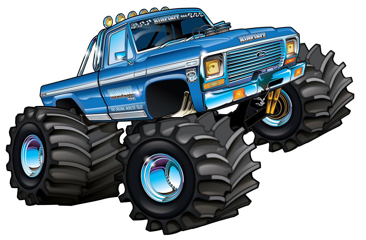 Big Foot Truck