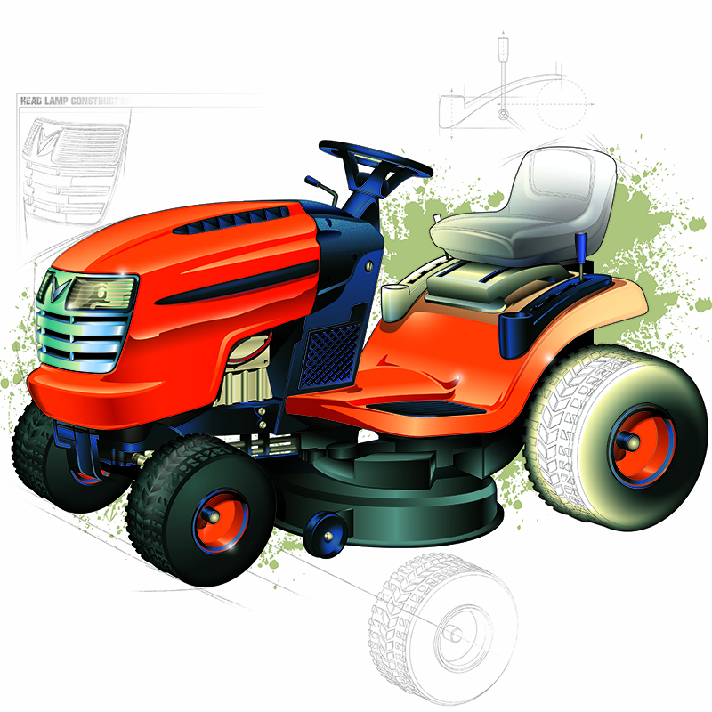 E-4169 Lawnmower