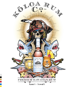 Pirate Rum Distressed