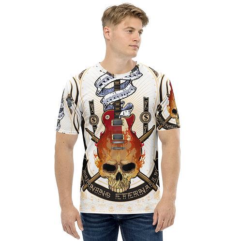 Flaming Skull Men's T-shirt