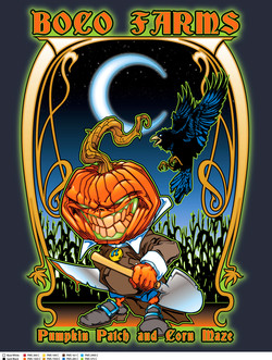 Boco Pumpkin Patch Color