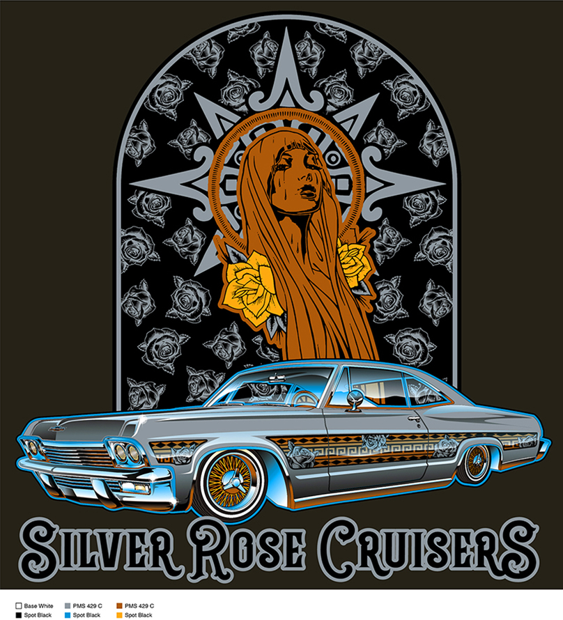 Silver Rose Cruiser Color