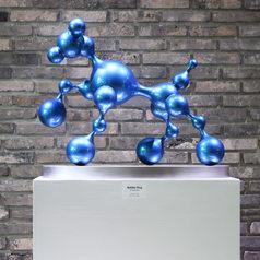 Bubble Dog (Blue), 2017