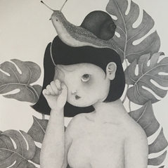 The Girl who needs a Friend (Snail), 2018