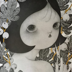 Girl With Scissors, 2017