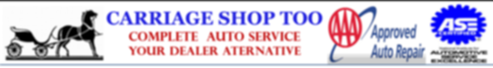 Carriage Shop Too AAA Approved Auto Repa