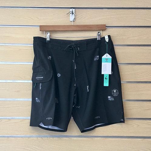 Gado Gadoo Boardshort - Black