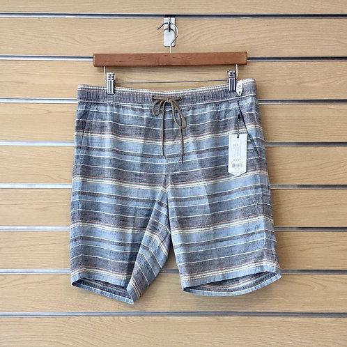 Avalon Woven Short - Blue Stripe