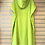 Thumbnail: Tris Surf Adult Changing Robe - Lime Green