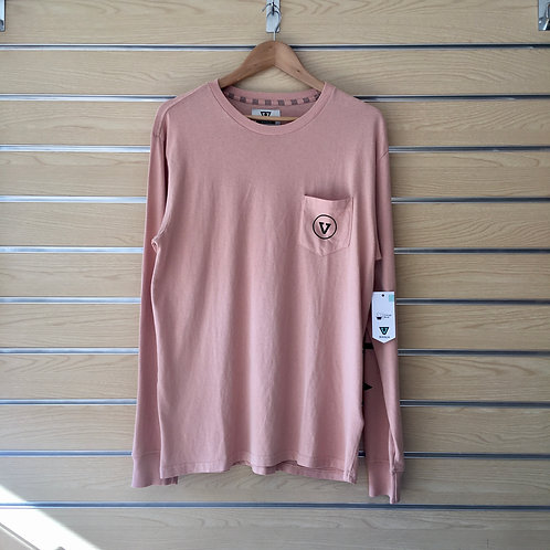 Plain Sailing LS Tee - Dusty Pink