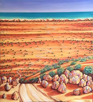 Desert by the Sea by Michelle Gelmi