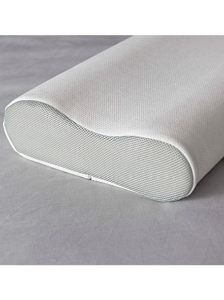 John Cotton Memory Foam Pillows Dual Contour