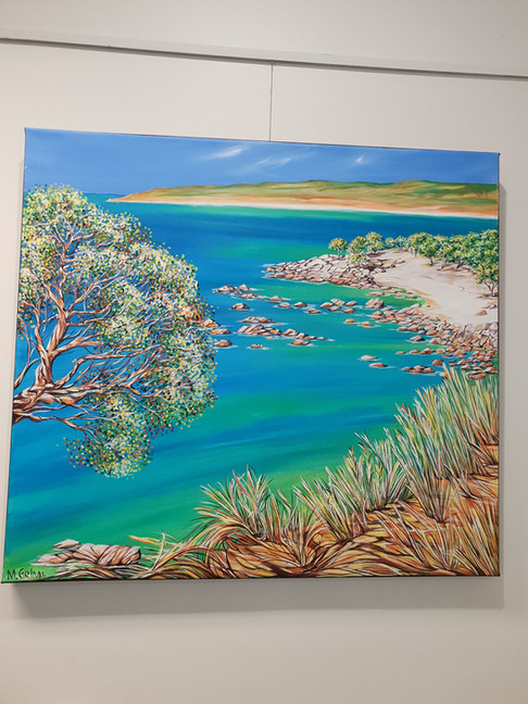 Bunkers Bay Cliffs by Michelle Gelmi