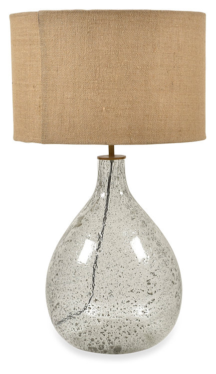 Tall Glass Lamp