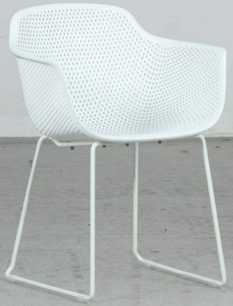 Lilly chair white