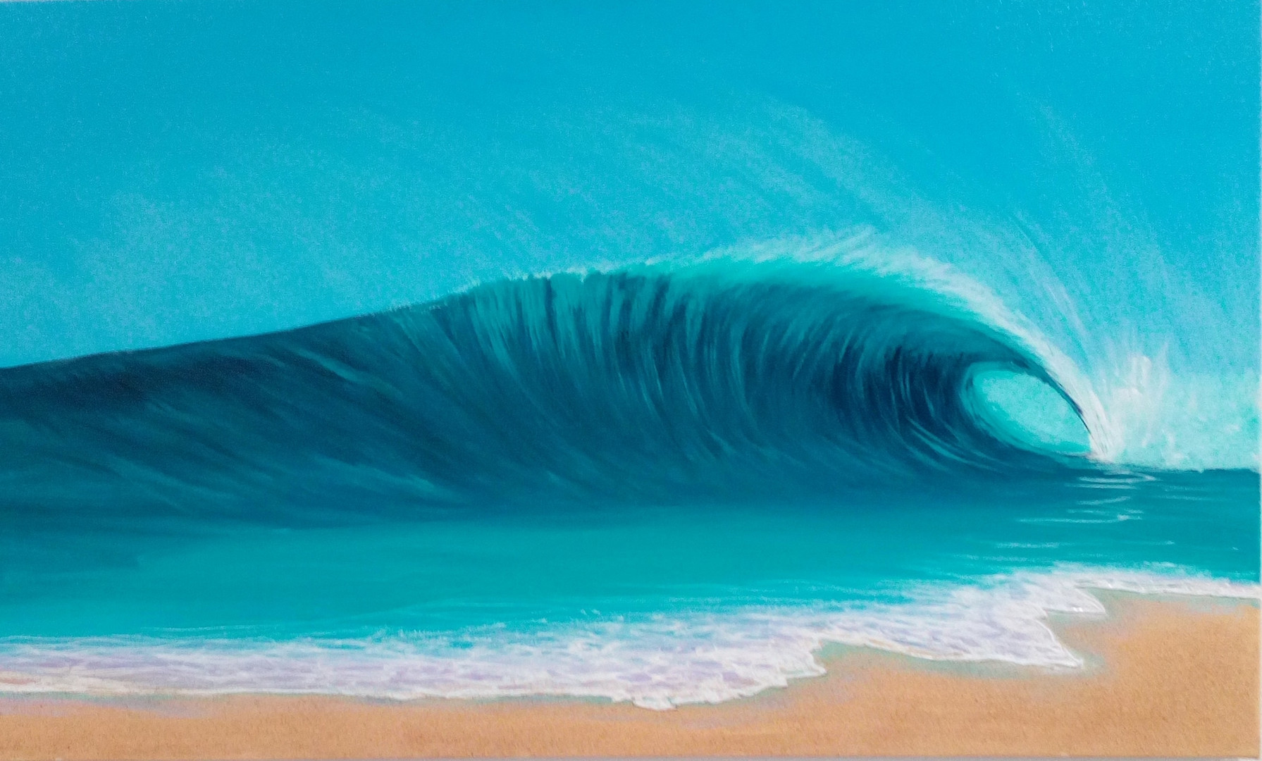 Catching a Wave by Adam Stanley
