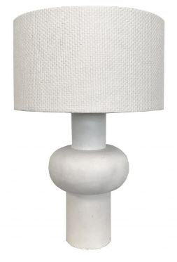 Olly table lamp white