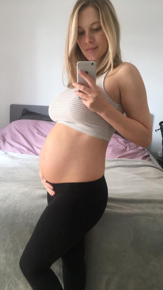 Three months left of pregnancy