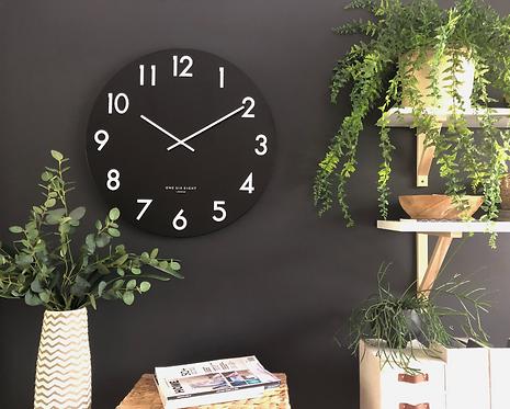 Jackson Wall clock black