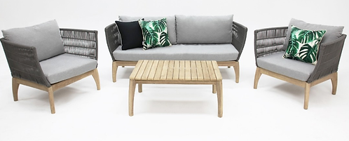 Remi Rope lounge setting