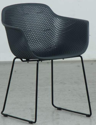 Lilly chair black