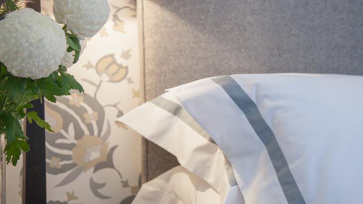 Finest Linen Company bed corner