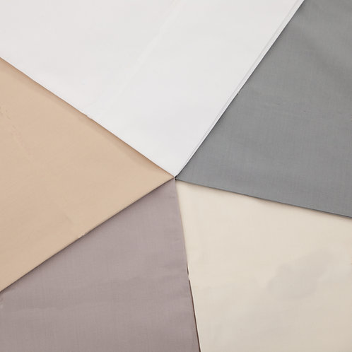 Colour wheel of Savile Plain colours taupe, white, storm, ivory and silver
