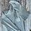 Thumbnail: econscious Men's Organic/Recycled Heathered Full-Zip Hooded Sweatshirt