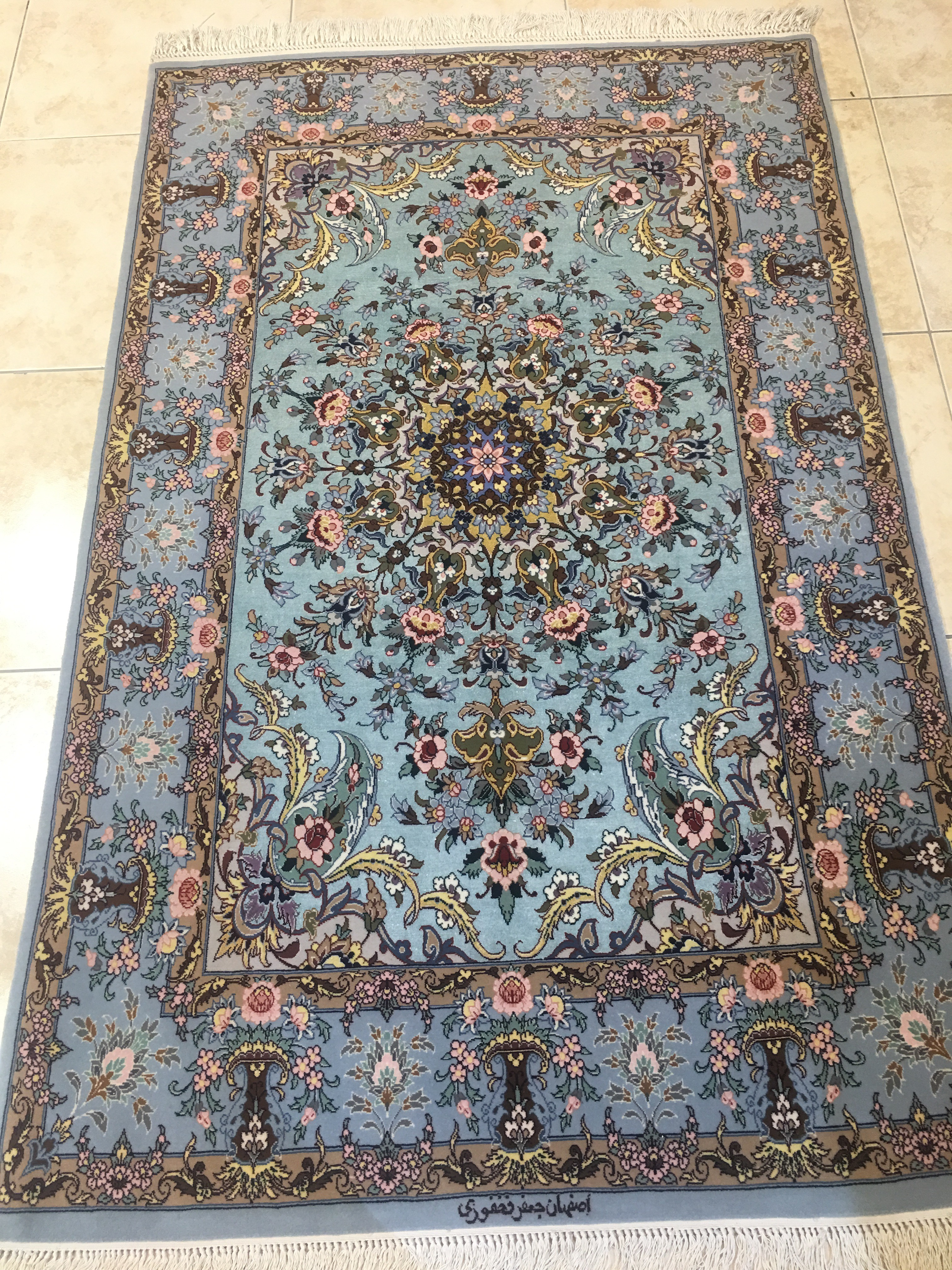 Esfahan Carpet Silk & Wool