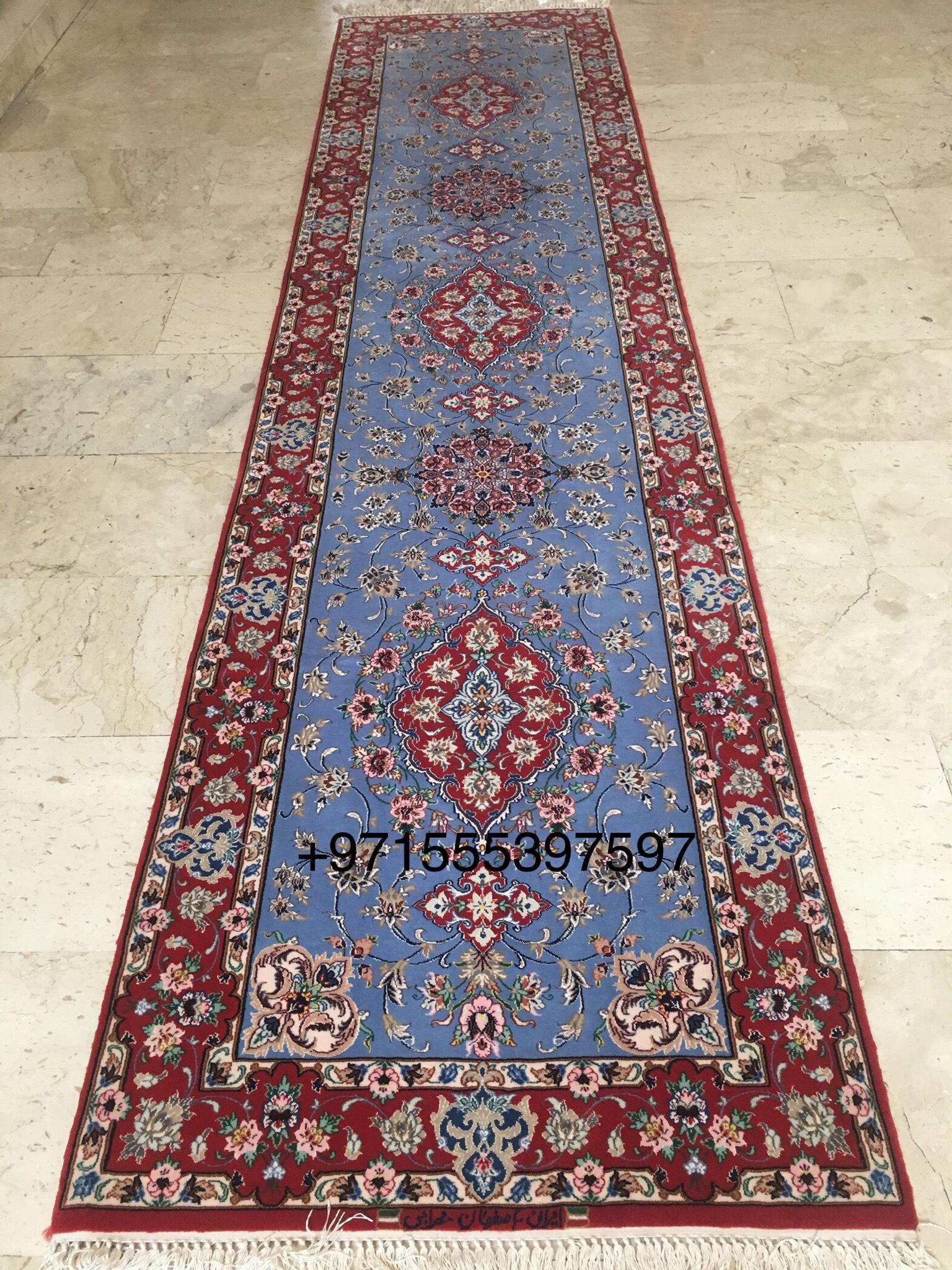 Isfahan Runner Handmade Carpet