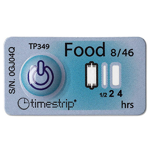 TSF08 Timestrip® Food 8°C