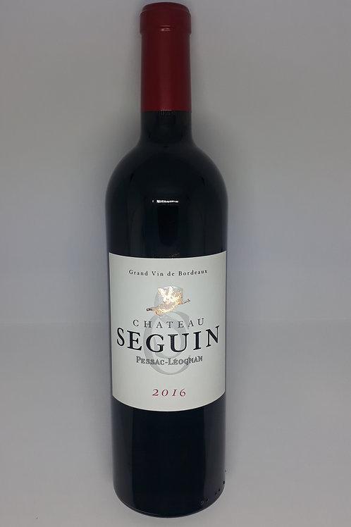 Château Seguin, Pessac-Léognan 2016