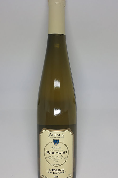 Vignobles Ruhlmann-Schutz, Riesling Cuvée Jean-Charles 2017