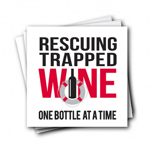 Rescuing Trapped Wine