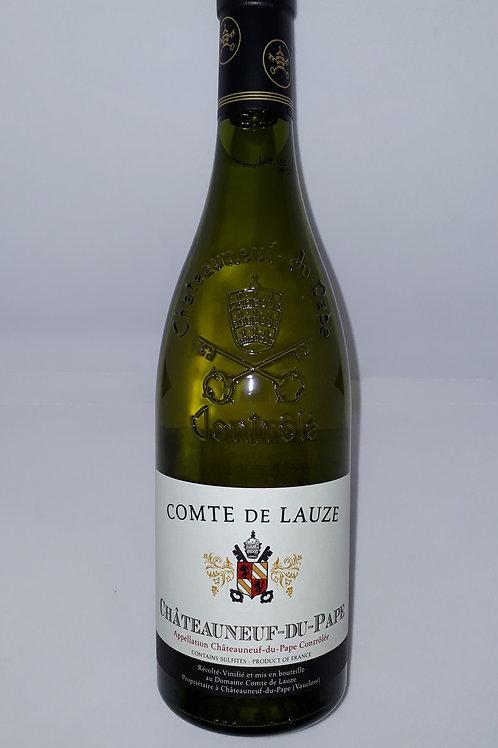 Domaine Comte de Lauze, Châteauneuf-du-Pape Blanc 2018