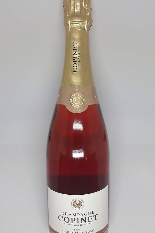 Marie-Copinet, Champagne, Caractère Rosé, Brut NV