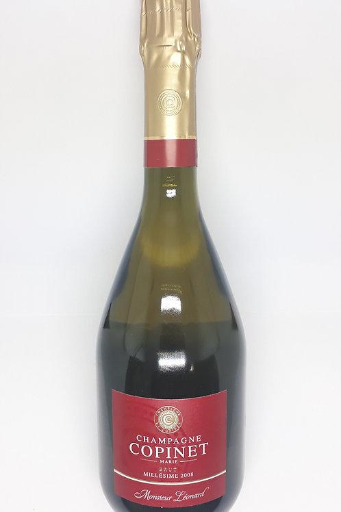 Marie-Copinet, Champagne, Cuvée Léonard, Blanc de Blancs, 2008